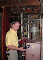 Larry Coha Inspecting a Home